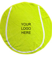 Tennis Ball Shaped Towel