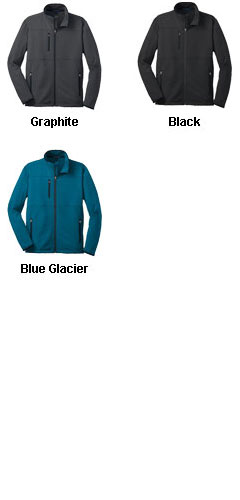 Mens Tall Pique Fleece Jacket - All Colors