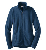 Custom Ladies Sweater Fleece Full-Zip Jacket