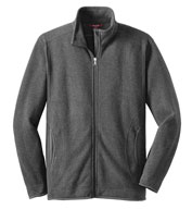Mens Sweater Fleece Full-Zip Jacket