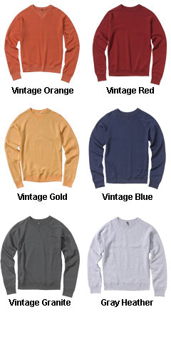 Pro-Weave� Vintage Crewneck Sweatshirt by MV Sport - All Colors