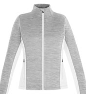 Custom Shuffle Ladies Performance Melange Interlock Jacket