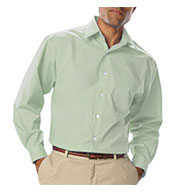 Custom Mens Long Sleeve Poplin Dress Shirt