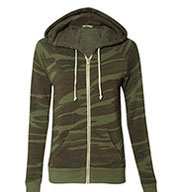 Custom Alternative Apparel Ladies Eco Fleece