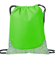 Patterned Cinch Drawstring Bag