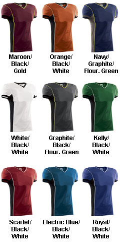 Adult Roll Out Football Jersey - All Colors
