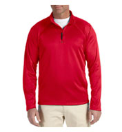 Custom Mens Stretch Quarter-Zip Tech-Shell�