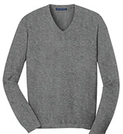 Custom Mens V-Neck Fine Gauge Sweater