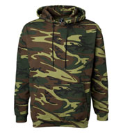 Custom Code V Camouflage Hooded Sweatshirt