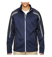 Custom Mens Strike Color-Block Fleece Jacket Mens