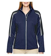 Custom Ladies Color-Blocked Fleece Jacket