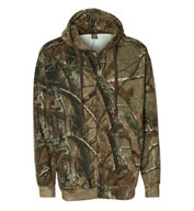 Realtree® Hooded Full-Zip Sweatshirt by Code V