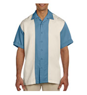 Custom Mens Two-Tone Bahama Camp Shirt Mens