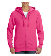 Ladies Full Zip French Terry Hoodie
