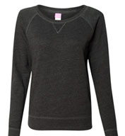 Ladies French Terry Slouchy Pullover