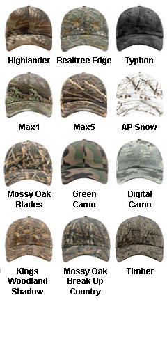 Relaxed Camo Cap - All Colors