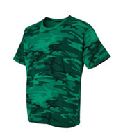 Custom Youth Code V Camouflage Overdyed T-Shirt