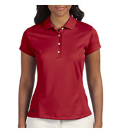 Custom Adidas Golf Ladies ClimaLite® Solid Polo