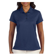 Custom Adidas Golf Ladies ClimaCool® Diagonal Textured Polo