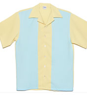 Lemon Drop USA Made Bowling Shirt