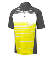Sublimated Stripe Polo