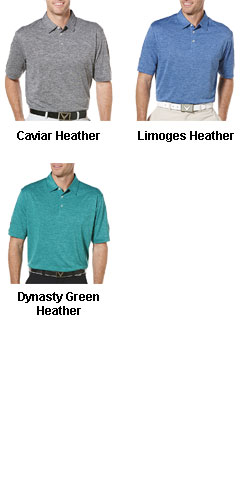Callaway Heathered Performance Polo - All Colors