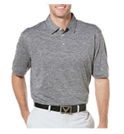 Custom Callaway Heathered Performance Polo Mens