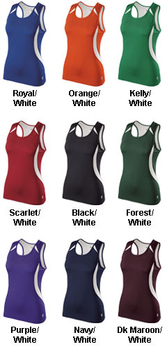 Holloway Ladies Sprinter Singlet - All Colors