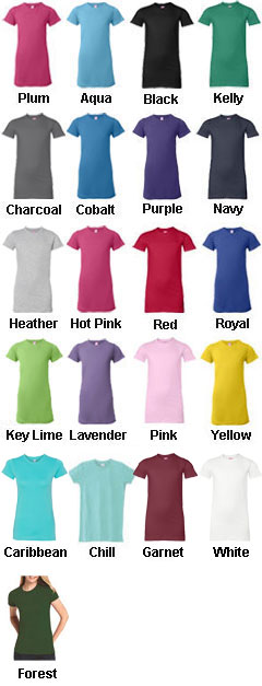 Juniors Fine Jersey T-Shirt - All Colors