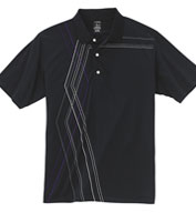 Page and Tuttle Mens Diamond Argyle Print Polo