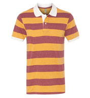Alternative Mens Stripe Polo