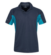 Custom Mens Laguna Technical Two-Tone Polo Mens