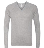 Unisex V-Neck Lightweight Sweater by Bella-Canvas