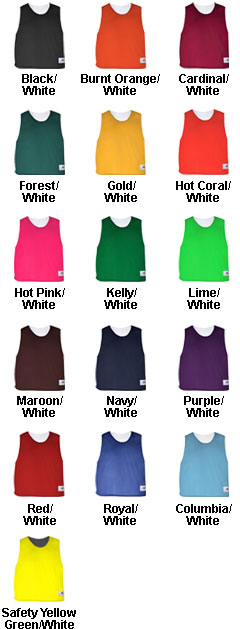 Badger Youth Lacrosse Reversible Practice Tank - All Colors