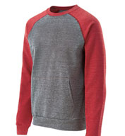 Roster Pocketed Crew Neck Sweatshirt by Holloway USA