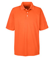 Custom UltraClub Mens Cool and Dry Stain Release Polo