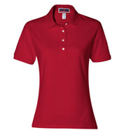 Custom Jerzees Ladies 50/50 Jersey Polo with SpotShield�