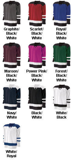 Holloway Youth Faceoff Jersey - All Colors