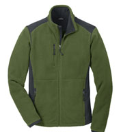 Custom Eddie Bauer® Full-Zip Sherpa Fleece Jacket Mens