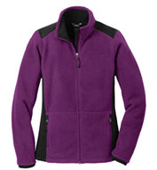 Custom Eddie Bauer®  Ladies Full-Zip Sherpa Fleece Jacket