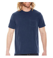 Pigment Dyed Mens Pocket T-Shirt