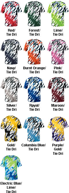 Youth Tie Dri Tee by Badger Sport - All Colors