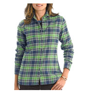 Woolrich Ladies Pemberton Flannel Shirt