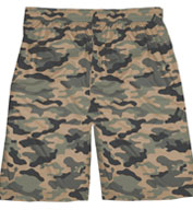 Badger Adult Camo Short