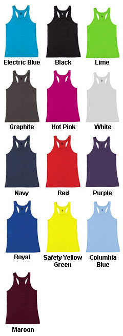Custom Ladies Racerback Tank Top by Badger Sports - All Colors