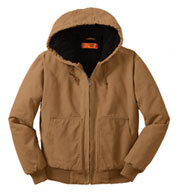CornerStone�® Washed Duck Cloth Hooded Work Jacket