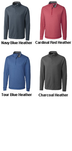 Mens CB DryTec™ Topspin Half Zip  - All Colors
