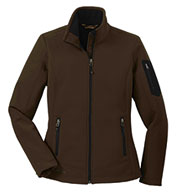 Custom Eddie Bauer® Ladies Rugged Ripstop Soft Shell Jacket