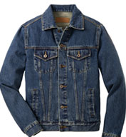Classic Mens Denim Jacket