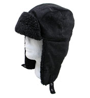 Custom Fleece Lined Aviator Hat with Earflaps